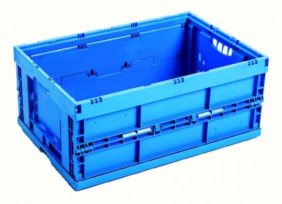 Euro transport stacking boxes