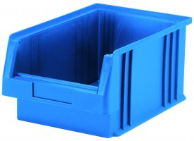 Open fronted storage boxes