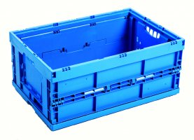 Foldable Transport stacking boxes