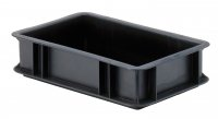 Conductive transport stacking box TKL 300/75-0 pieces