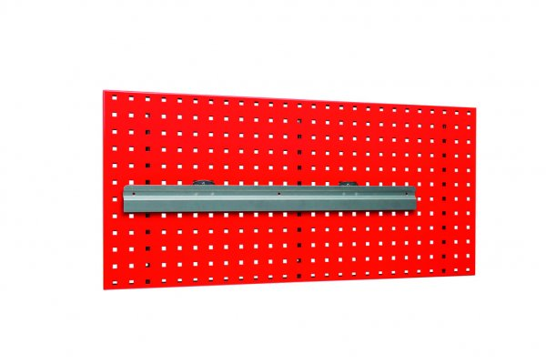 Holding rail for plastic crates 764 mm