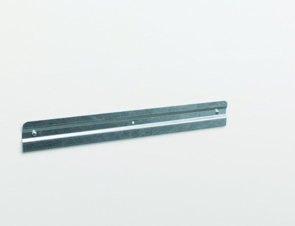 Wall mounting rail for plastic crates 500 mm
