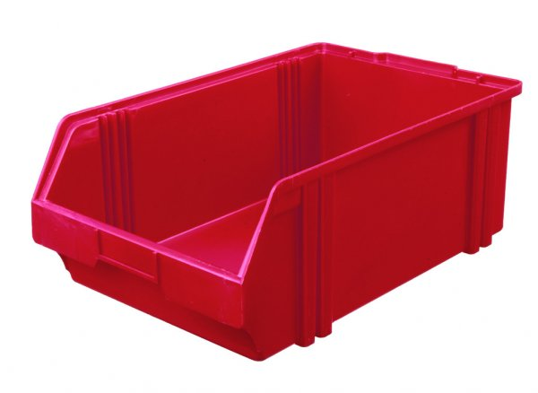 Plastic box LK 1 VPE (10 pieces) Yellow