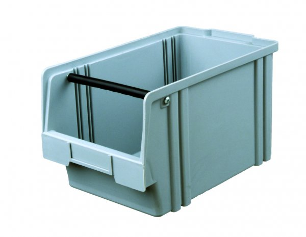 Plastic box LK 2A VPE (10 pieces) Yellow