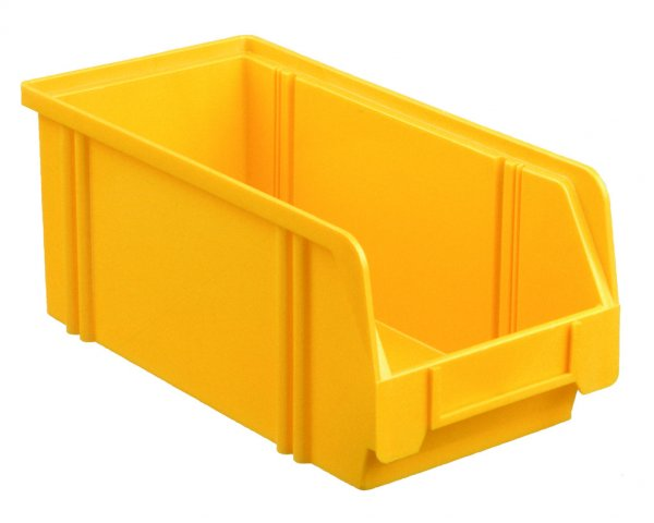 Plastic box LK 3A VPE (25 pieces) Yellow
